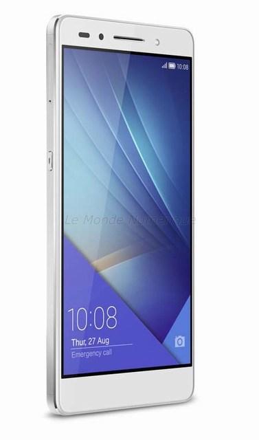 Test du smartphone Honor 7