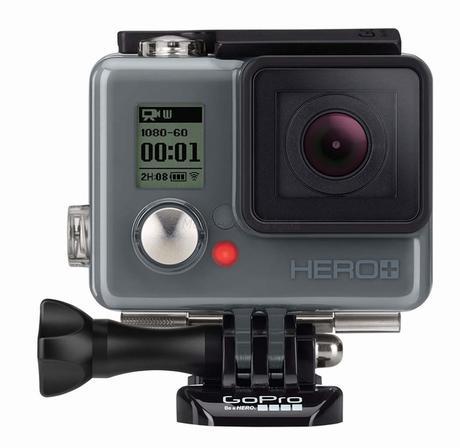 HERO+, une nouvelle GoPro Wi-Fi pour l'entrée de gamme