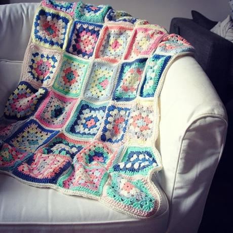 Ma Happy blanket en granny (23 septembre)