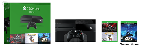 holiday bundle Xbox One : Un Bundle pour Gears of War   Rare Replay et Ori  Xbox One Ori gears of war bundle