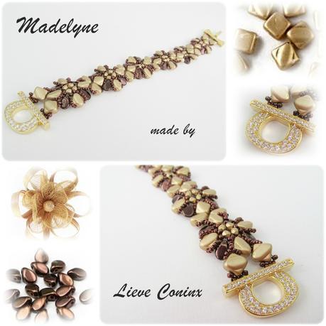 MADELYNE bracelet par Lieve Coninx