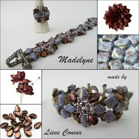 MADELYNE bracelet et bague par Lieve Coninx