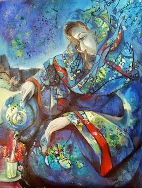 Cours de peinture à Essaouira