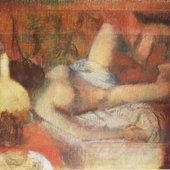 Degas : Femme s'essuyant - - Littérature, Peinture, Récits de voyage