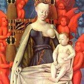 Jean Fouquet : Le nu sacré - La Vierge à l'enfant, vers 1450 - Littérature, Peinture, Récits de voyage
