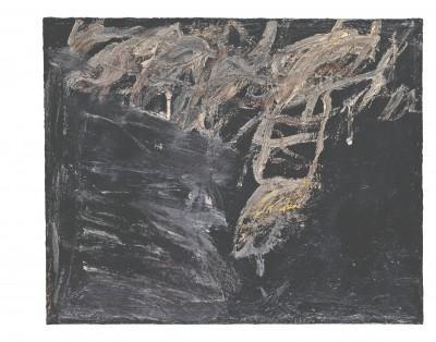 Cy Twombly 73.8 x 91 cm; Öl auf Leinwand