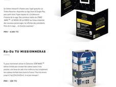 Poste lancer produits Star Wars novembre
