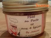 Pâté campagne épices Porto