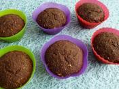 muffins végans hyperprotéinés chicorée cacao coco sarrasin avoine (diététiques, sans gluten oeuf beurre, riches fibres)