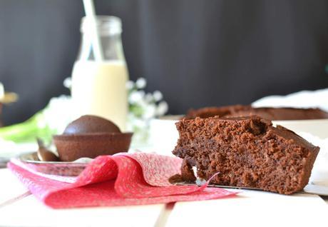 Gâteau au chocolat { Vegan }