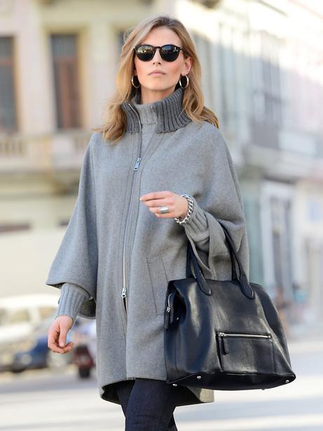 Mode tendance manteaux de l hiver 2015 2016 paperblog - Cape femme hiver ...