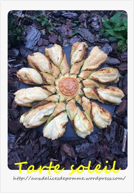 Tarte soleil paperblog - Tarte soleil jambon cru ...
