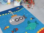 tapis dans maison pensée pour enfants