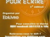Littérature Edilivre lance édition concours pour écrire