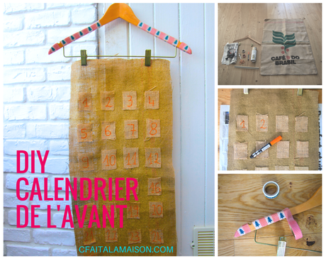 diy calendrier de l avant r cup paperblog. Black Bedroom Furniture Sets. Home Design Ideas