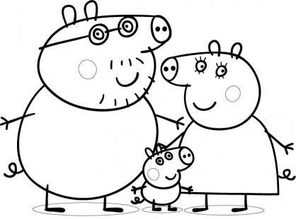 Les enfants s amusent avec peppa pig paperblog - Dessin a imprimer peppa pig ...