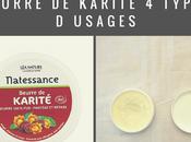 beurre Karité types d'usages