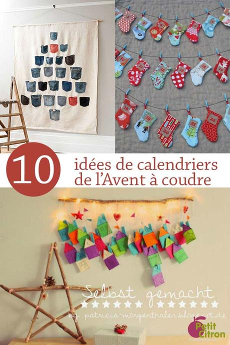 10 calendriers de l avent coudre paperblog. Black Bedroom Furniture Sets. Home Design Ideas