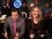 Adele, Jimmy Fallon Roots Hello (live)