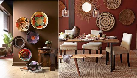 l 39 artisanat africain une nouvelle fa on d 39 habiller nos murs d couvrir. Black Bedroom Furniture Sets. Home Design Ideas