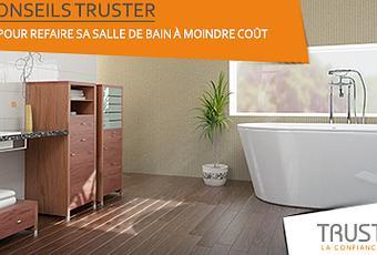 astuces pour refaire sa salle de bain moindre co t voir. Black Bedroom Furniture Sets. Home Design Ideas