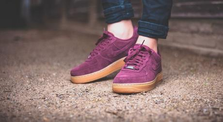 Nike Air Force 1 Low Suede Bordeaux
