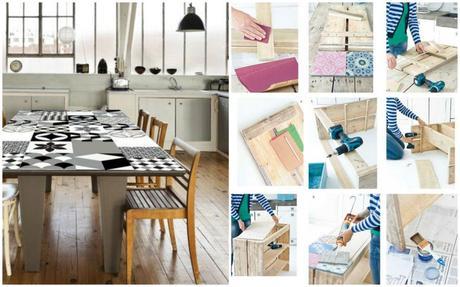 Envie de motifs carreaux de ciment voir for Set de table imitation carreaux de ciment