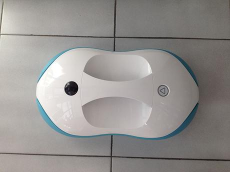 test robot nettoyeur de sol robospin moneual paperblog. Black Bedroom Furniture Sets. Home Design Ideas