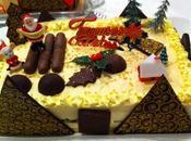 Entremets Noël mangue pamplemousse pistaches