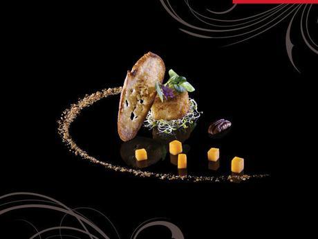 Pr sentation de livre visions gourmandes l 39 art de - Dressage des plats en cuisine ...
