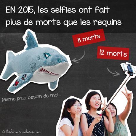 selfies plus de morts tuent plus que les requins