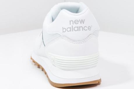 new balance blanc cassé