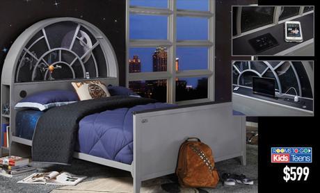 Lancement d une s rie de meubles star wars pour la chambre for Chambre star wars