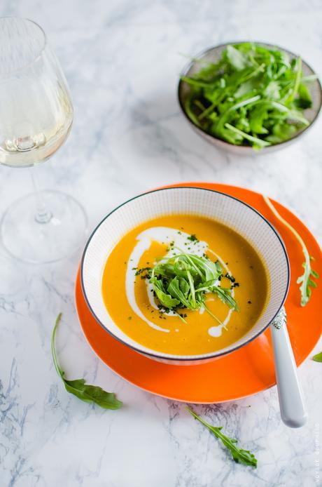 Soupe de carotte au curry et lait de coco paperblog - Soupe potiron lait de coco curry ...