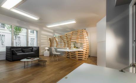 woodwave am nagement d un petit appartement paperblog. Black Bedroom Furniture Sets. Home Design Ideas