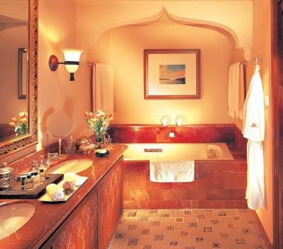 Salles de bain la marocaine lire for Salle bain marocaine