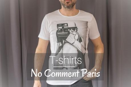 no comment paris tshirt stormtrooper