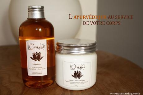 loren kadi marque bio ayurvédique ayurveda bien etre zen corps huile magicienne masque cheveux pré shampoing naturel