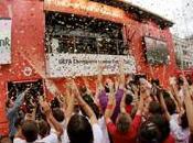 camion interactif pour Champions League avec UniCredit