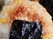 Onigiri maïs grillé sauce soja vegan}
