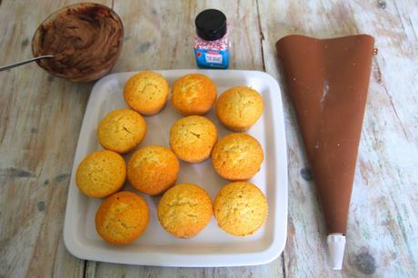 recette de cupcake nutella mascarpone paperblog. Black Bedroom Furniture Sets. Home Design Ideas