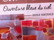 Galerie LOUVE ouverture bleue ciel ARLON exposition Estelle JOUILI