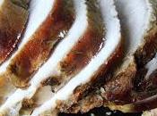 Noix jambon cuite foin
