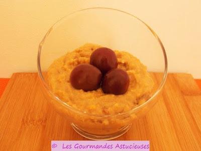 Polenta sucr e au rhum raisins et aux noix voir - Comment cuire la polenta ...