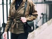 Black khaki outfit