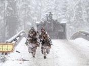 Exercices militaires géants Norvège: matériel sort grottes