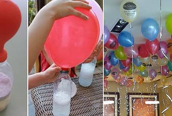 astuce pour gonfler des ballons flottants sans h lium incroyable d couvrir. Black Bedroom Furniture Sets. Home Design Ideas