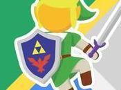 Google Maps rend hommage Legend Zelda