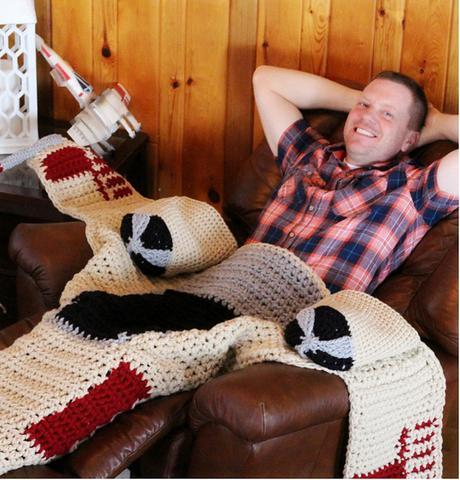 des couvertures star wars tricot es au crochet d couvrir. Black Bedroom Furniture Sets. Home Design Ideas