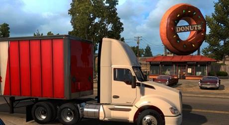 how to change view on american truck simulator